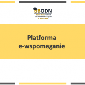 Obrazek aktualności Platforma e-wspomaganie.