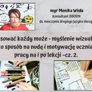 Obrazek aktualności Rysować każdy może! - myślenie wizualne w edukacji.