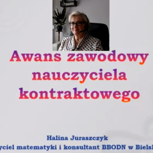 Obrazek newsa Awans zawodowy nauczyciela kontraktowego