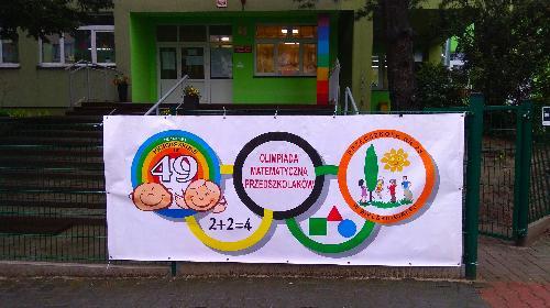 Obrazek galerii IV Olimpiada Matematyczna Przedszkolaków