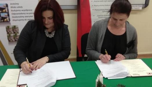 Obrazek newsa Podpisanie porozumienia z Polskim Stowarzyszeniem Nauczycieli Języka Niemieckiego