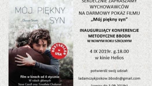 Obrazek newsa Zaproszenie na warsztaty i projekcję filmu
