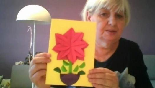 Obrazek newsa Kartka z origami na Dzień Mamy