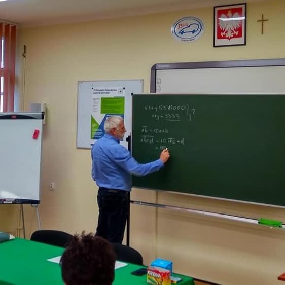 Galeria Spotkanie olimpijskie dla nauczycieli matematyki